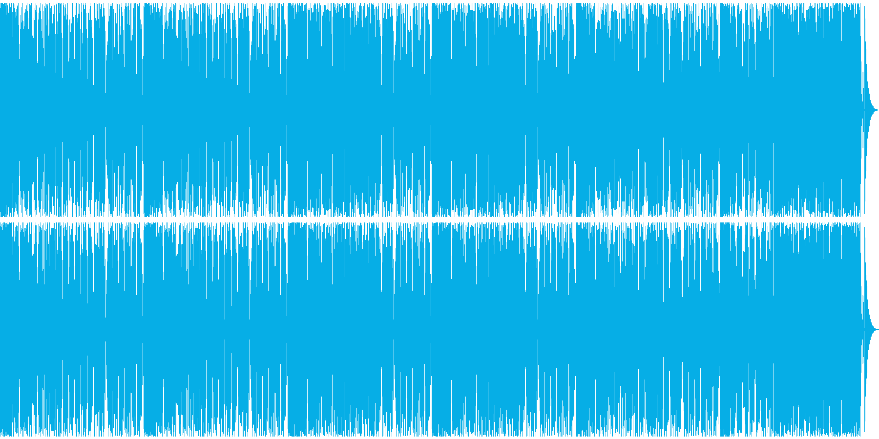 【フューチャーベース】ロング1の再生済みの波形