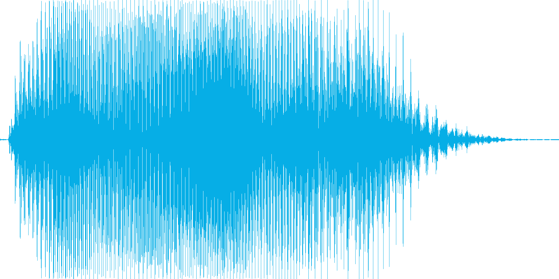 えいっ!の再生済みの波形