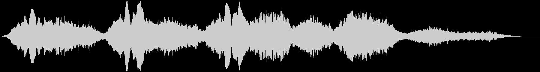 PADS 不気味なメロディー01の未再生の波形