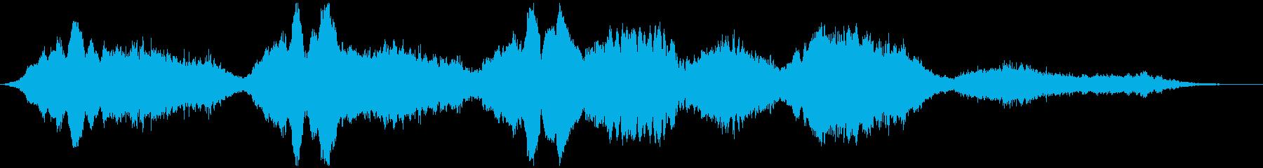 PADS 不気味なメロディー01の再生済みの波形