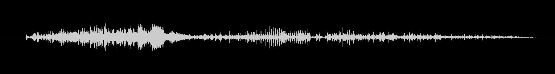 鳴き声 男性の呪い悪05の未再生の波形