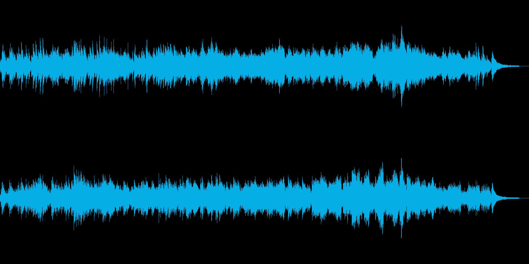 バッハ平均律クラヴィーア1番 ピアノ演奏の再生済みの波形