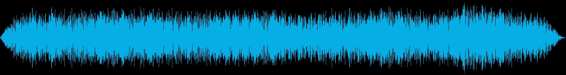 アンティークカーアイドリングの再生済みの波形