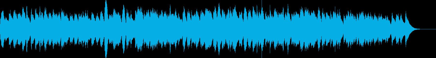 三声のバロックをハープシコードで演奏の再生済みの波形