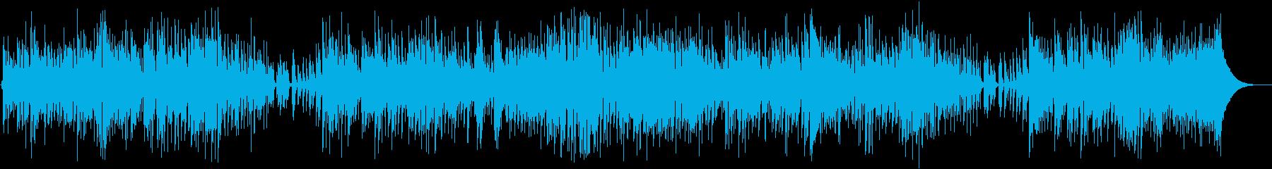 ワルツ。ジャズのスタンダードを演奏...の再生済みの波形