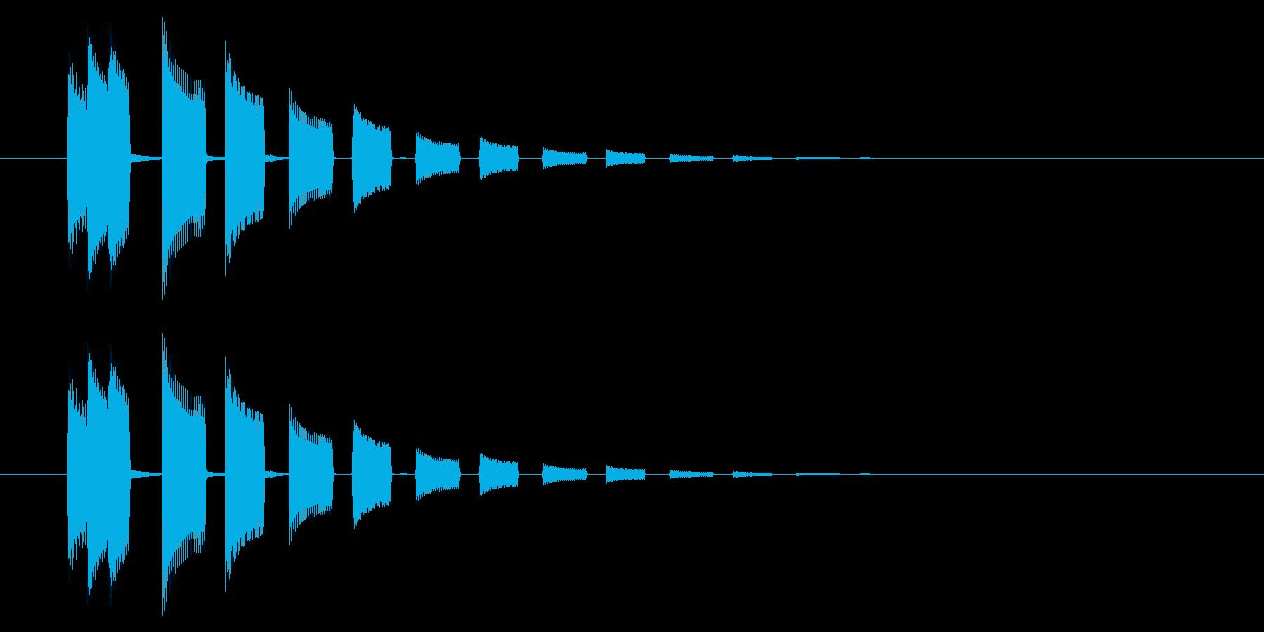 GEN-格闘01-14(選択)の再生済みの波形
