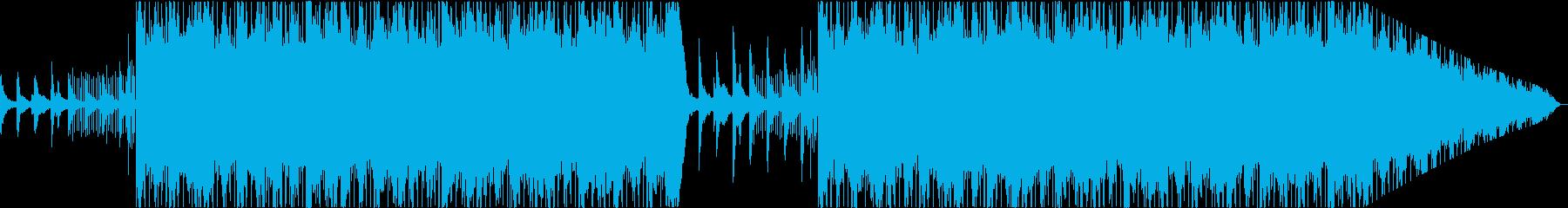 静かな深夜にぴったりなLofiピアノ楽曲の再生済みの波形