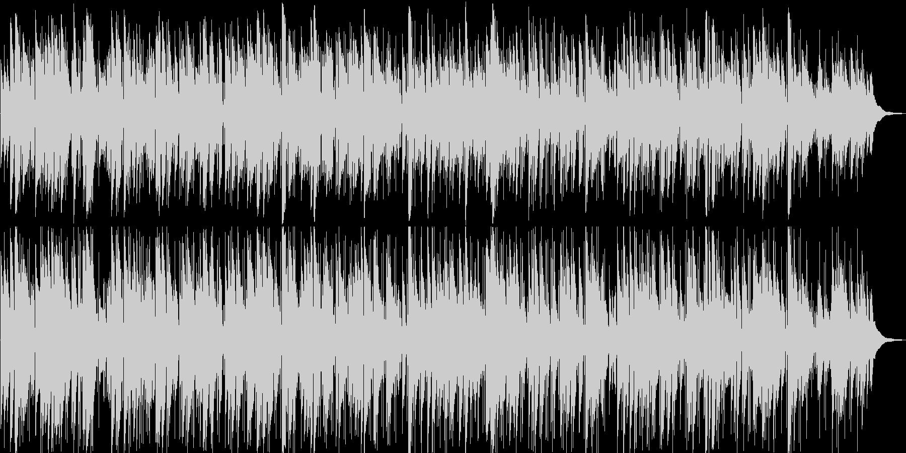 静かに奏でるギターのイージーリスニングの未再生の波形