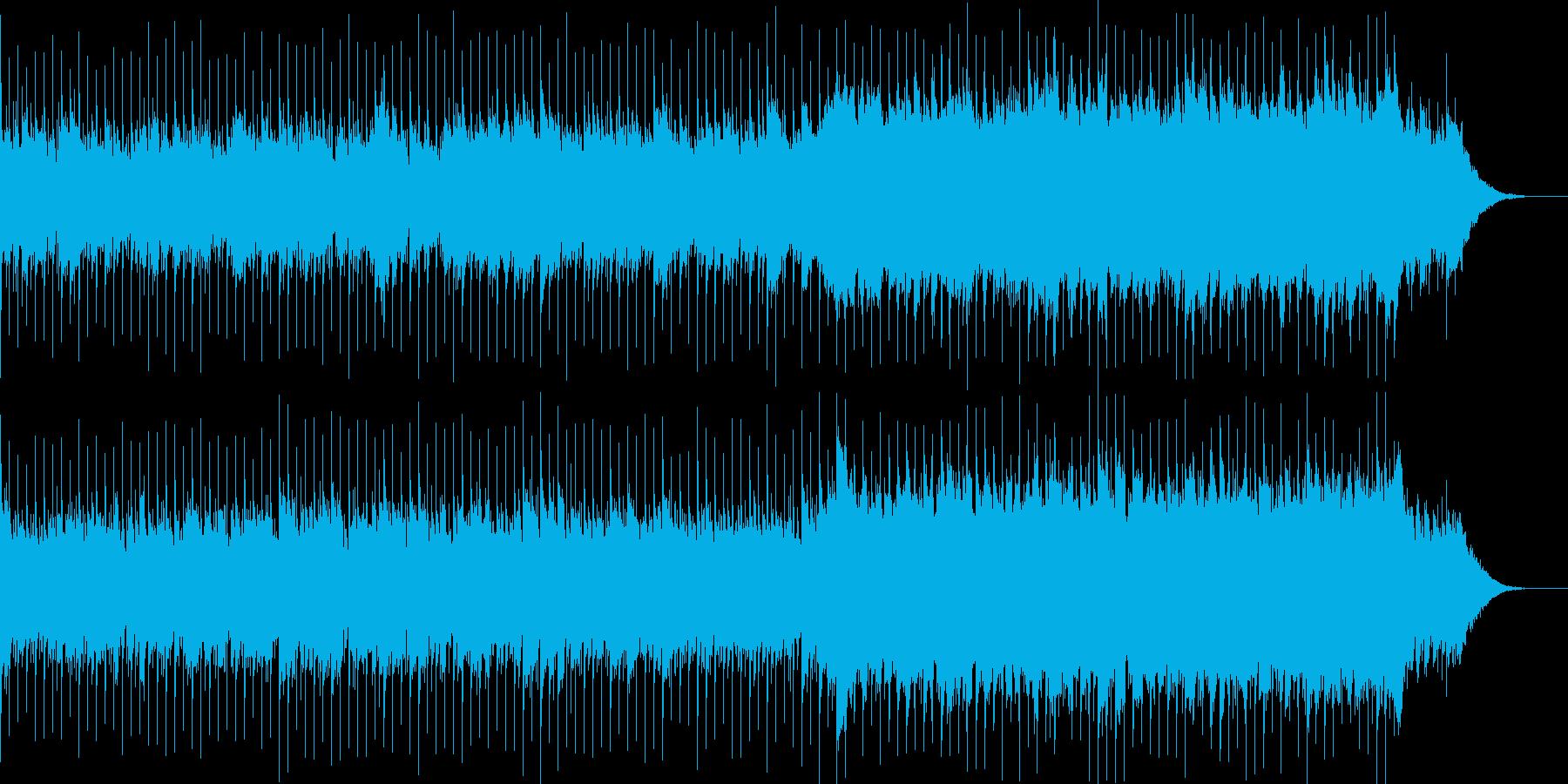 企業VP系70、爽やかギター4つ打ちbの再生済みの波形