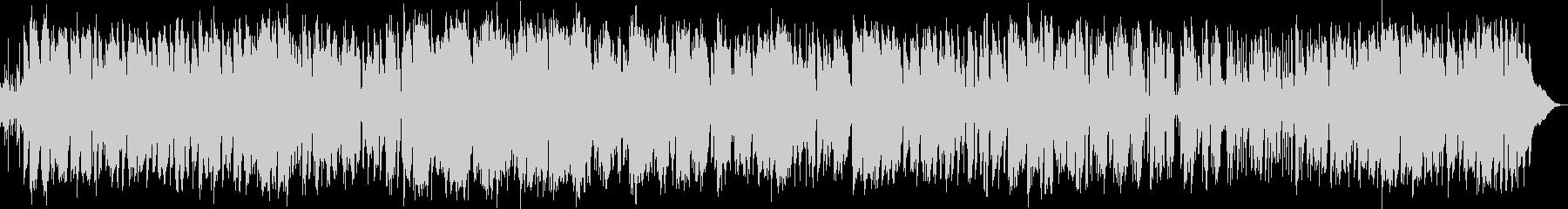 ムードのあるジャズ調でサックス中心の未再生の波形