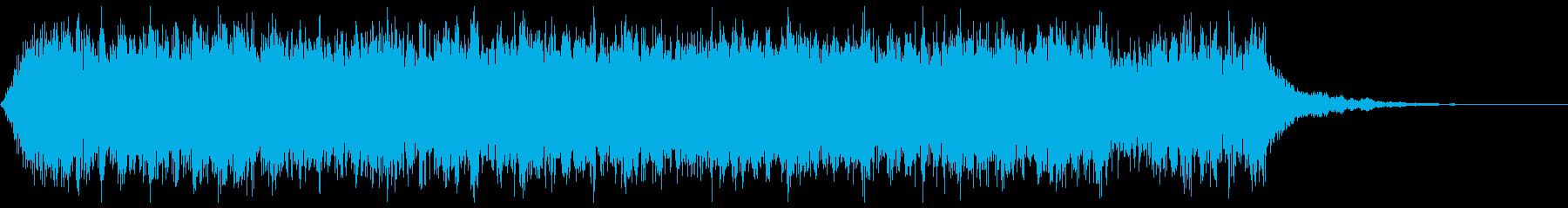 短調でエモーショナルなクワイア/コーラスの再生済みの波形
