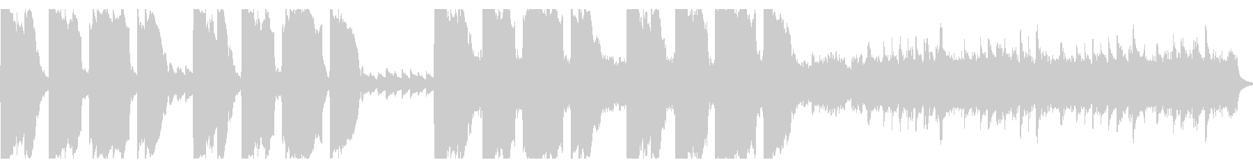 王道ファンタジーRPG 廃墟の未再生の波形