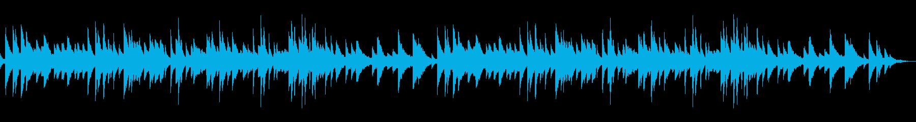 生ピアノ ソロ 哀しい 切ない バラードの再生済みの波形