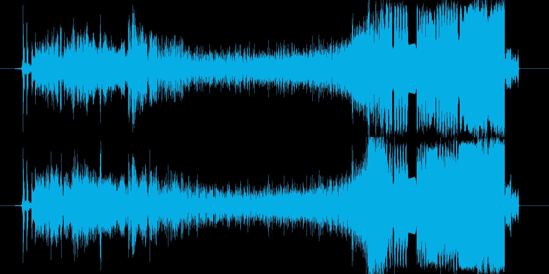 FMラジオジングル制作の効果音にピッタリの再生済みの波形