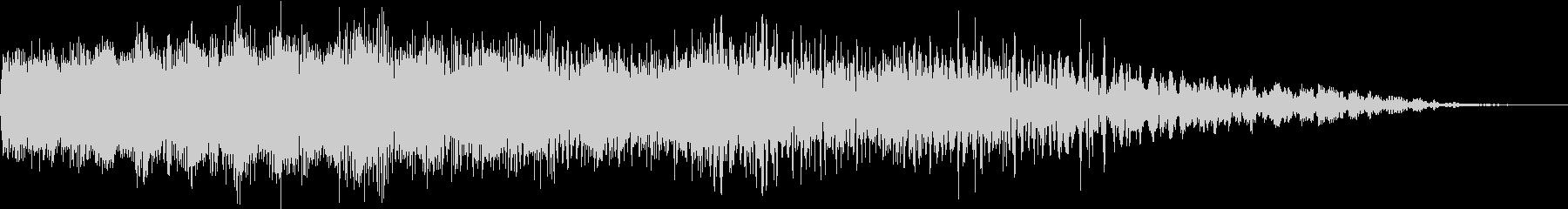 機械ダウン、壊れるA06の未再生の波形
