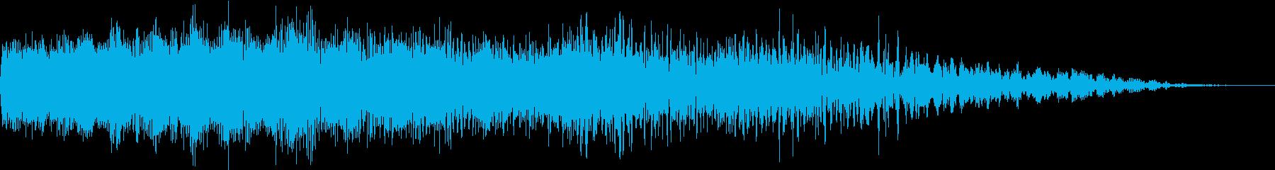 機械ダウン、壊れるA06の再生済みの波形