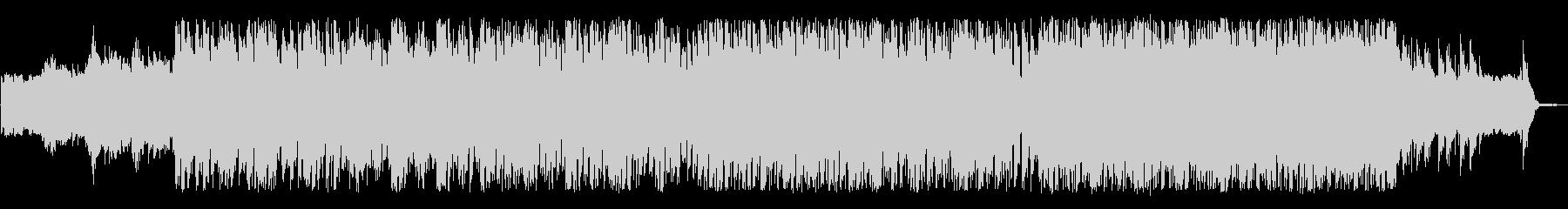 軽快で明るいポストロックの未再生の波形