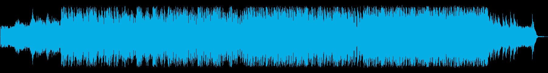 軽快で明るいポストロックの再生済みの波形