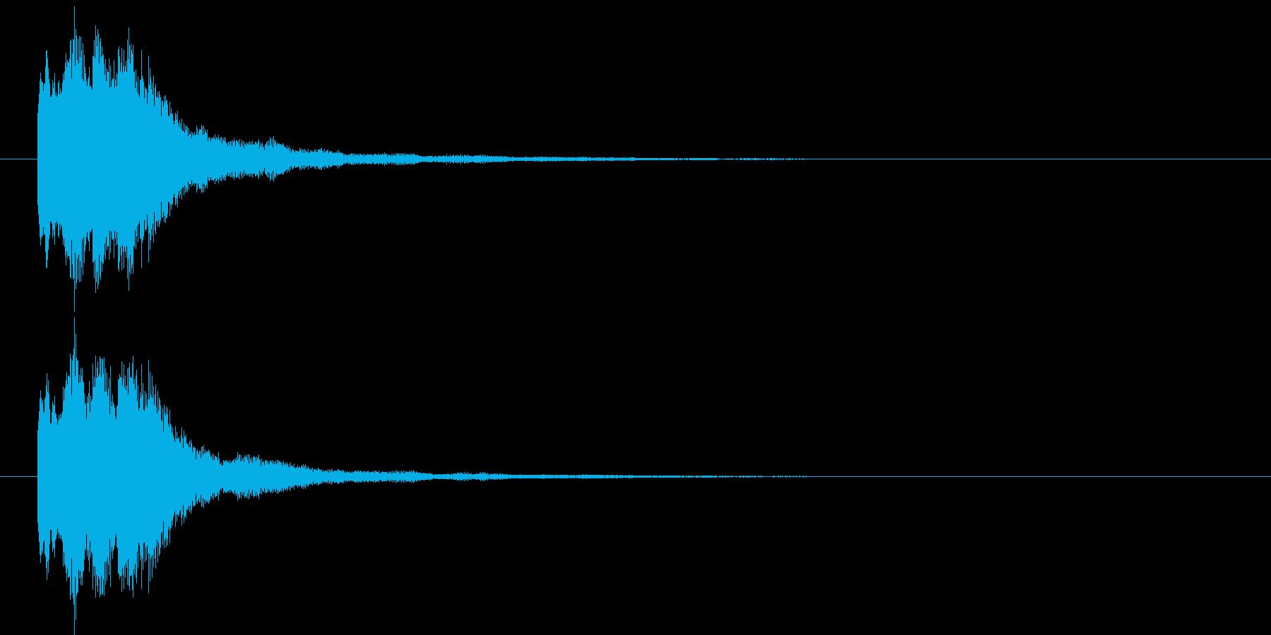 キラリン⑤(レア・お知らせ・ポイント)の再生済みの波形