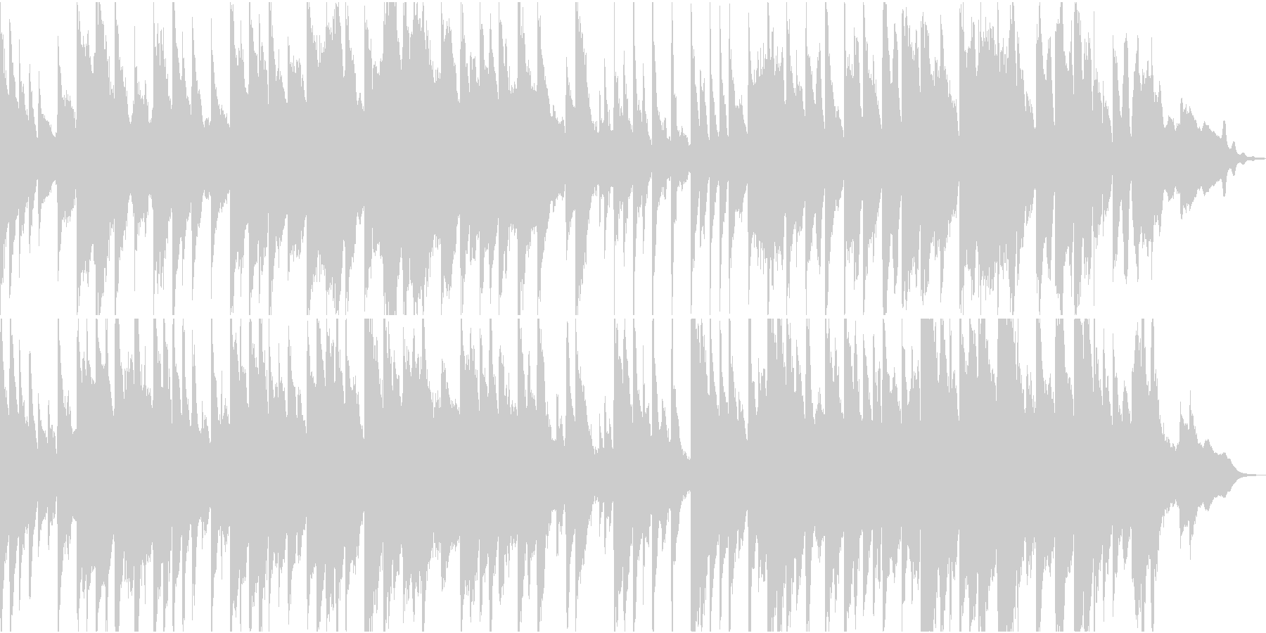学校の裏山っぽい音楽の未再生の波形