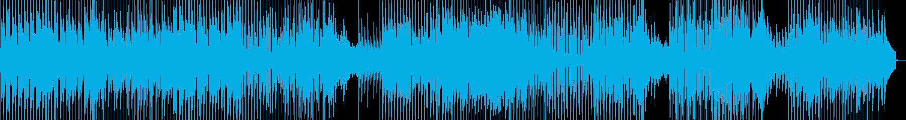 青空日和の散歩道をイメージの再生済みの波形