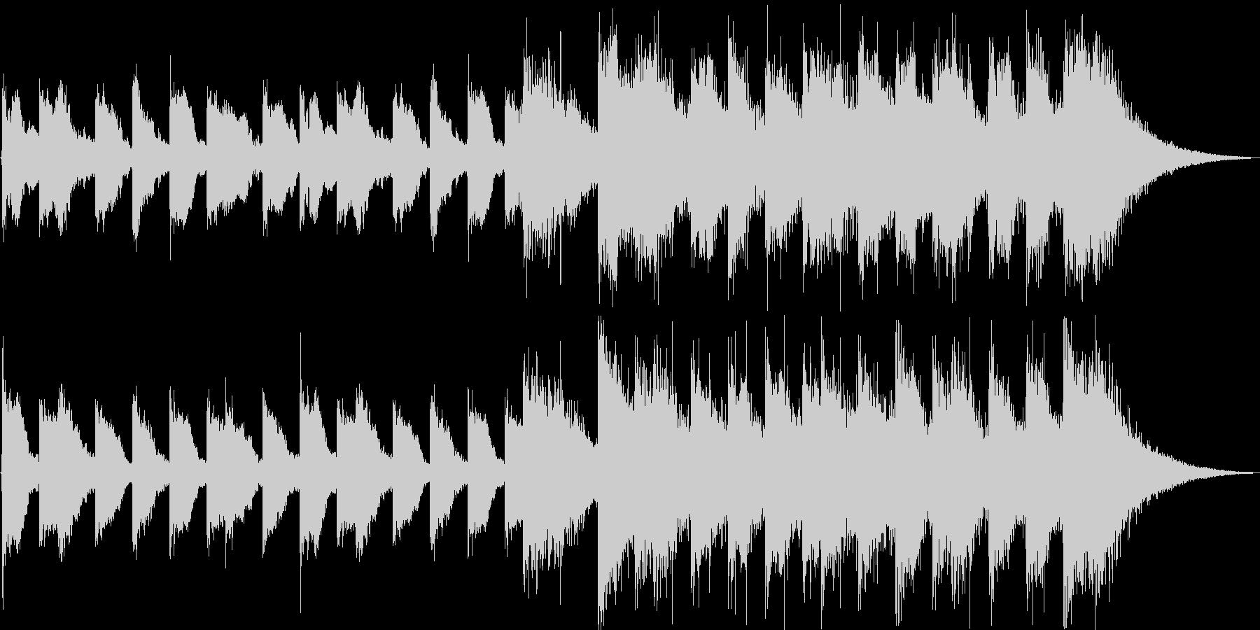 ジャジー イベントアタック オープニングの未再生の波形