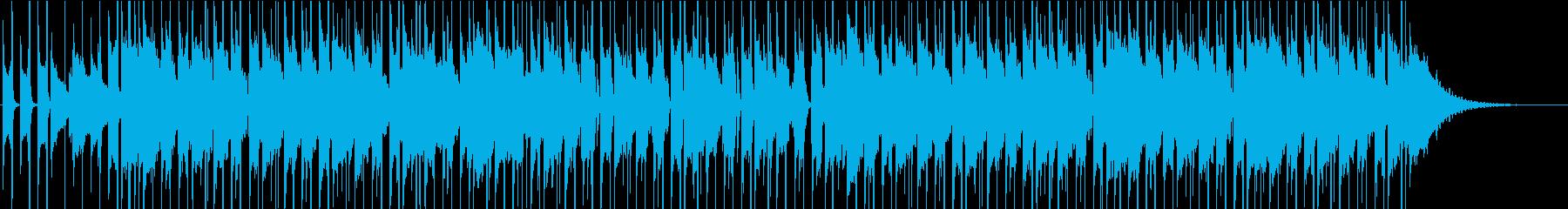 インスタ/夏/ギター/サーフミュージックの再生済みの波形