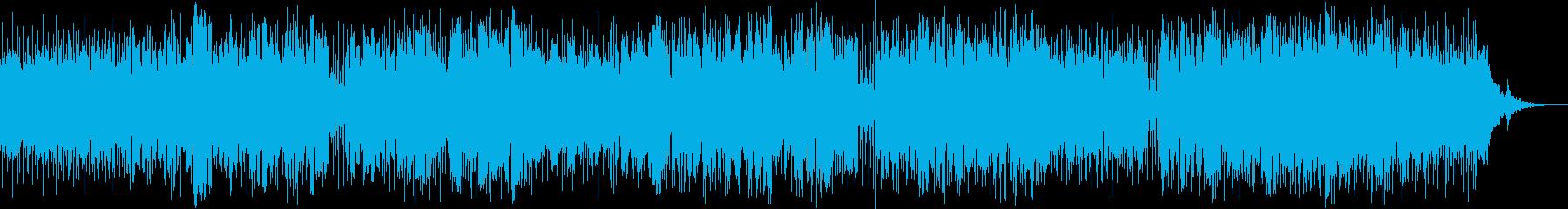 明るくおしゃれに演奏するジャズ・ポップの再生済みの波形