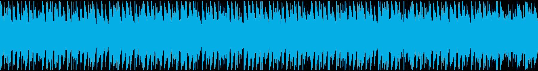 ポップパーティー(ループ-30秒)の再生済みの波形