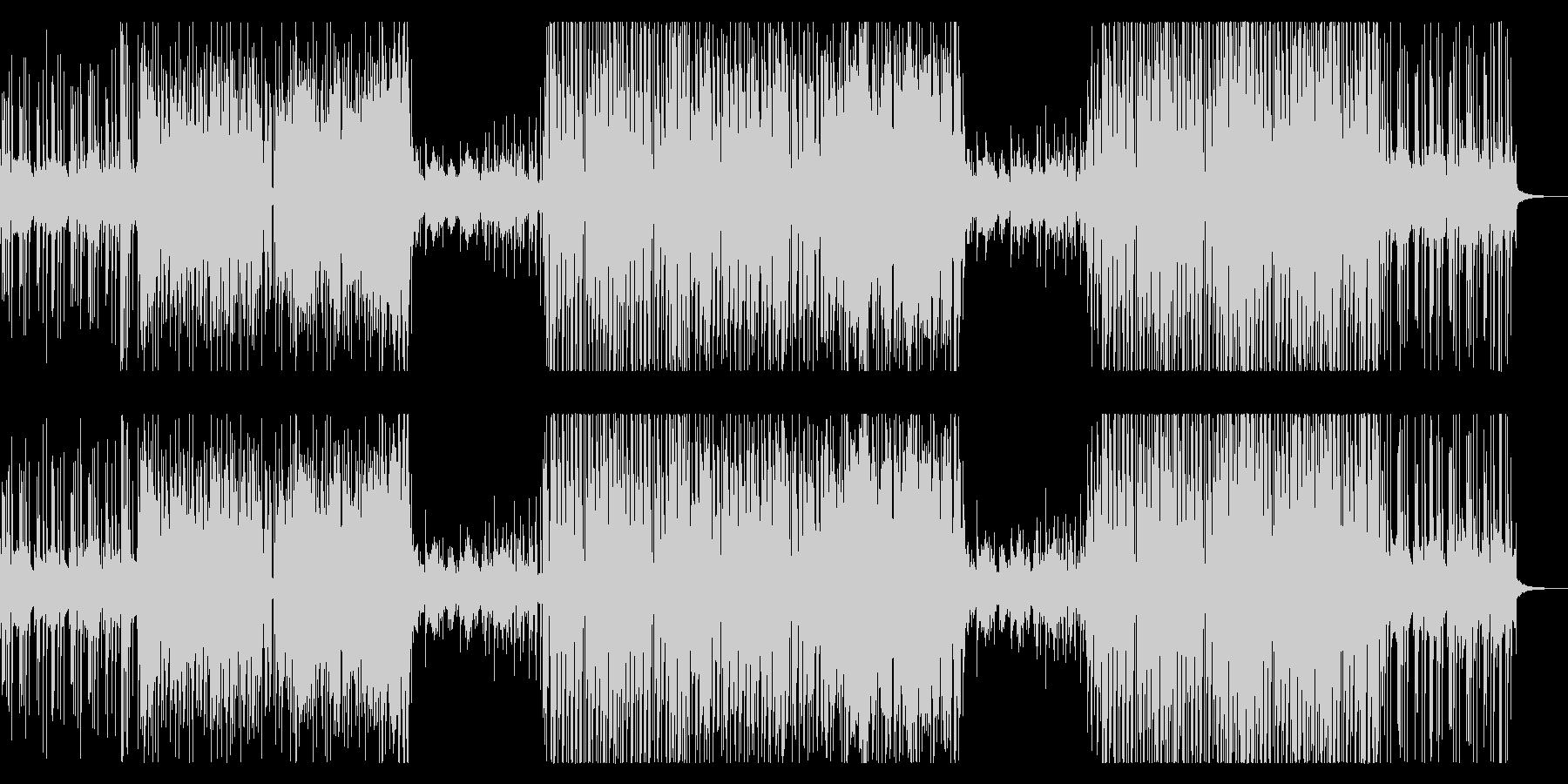 洋楽トレンドさわやか女性トロピカルハウスの未再生の波形