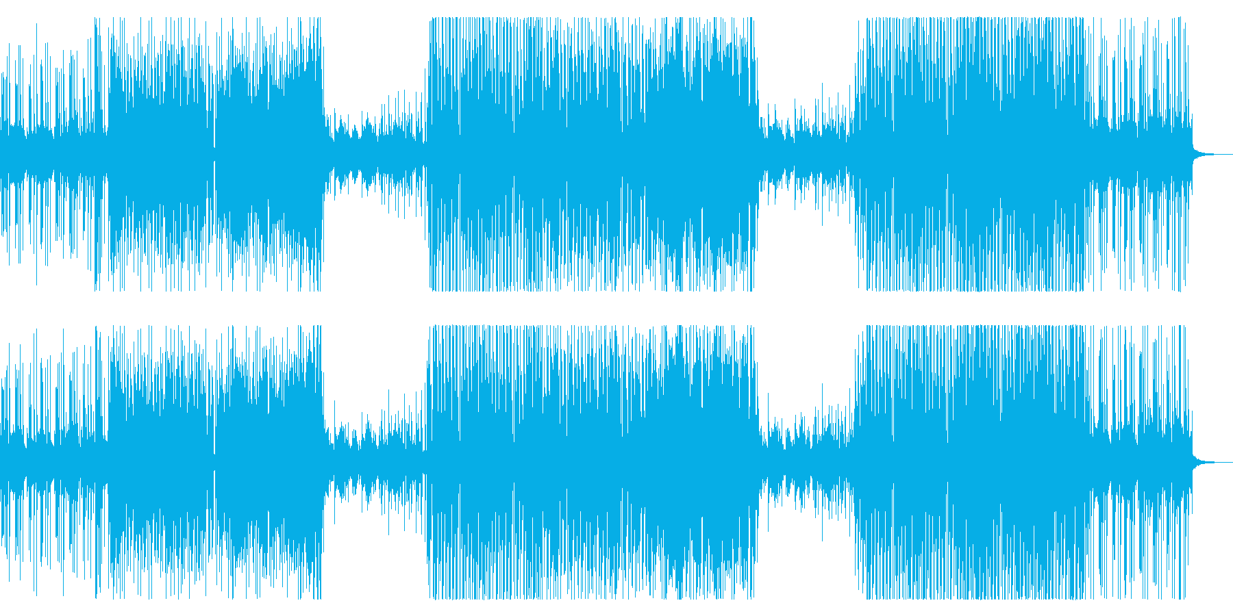 洋楽トレンドさわやか女性トロピカルハウスの再生済みの波形