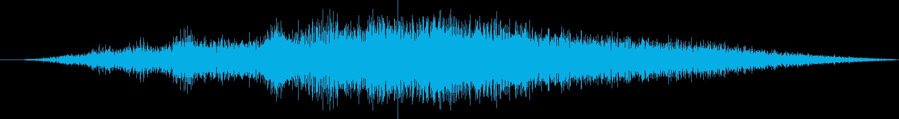 ヘビードラマティックエアリースペー...の再生済みの波形