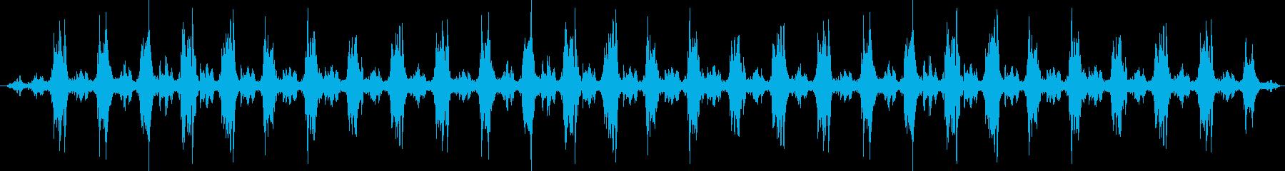 アンティーク風の製材所:低速で回転...の再生済みの波形