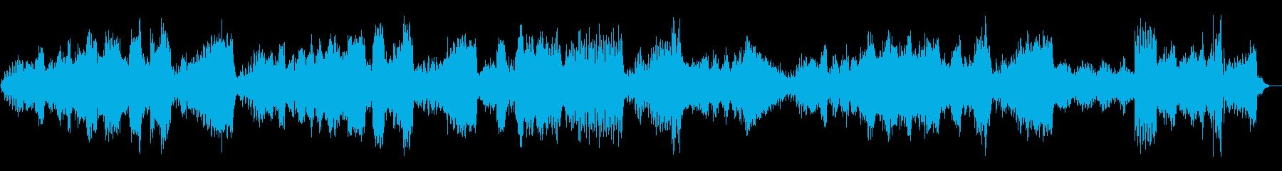 テンペスト 第三楽章 ベートーヴェンの再生済みの波形