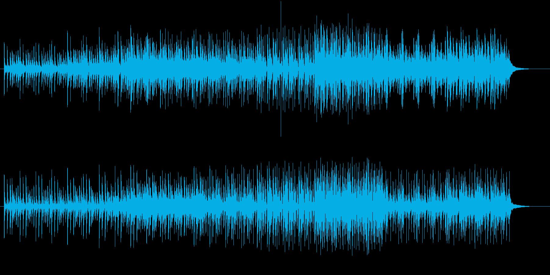 化学的な雰囲気の無機質なの再生済みの波形