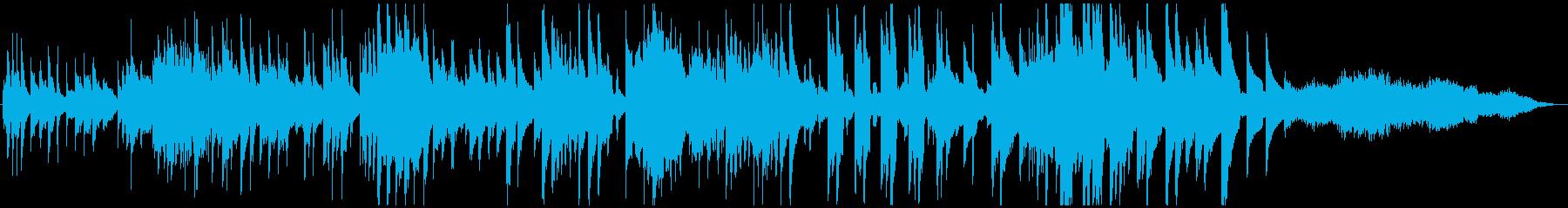 ピアノフォルテの雰囲気。実験的。の再生済みの波形