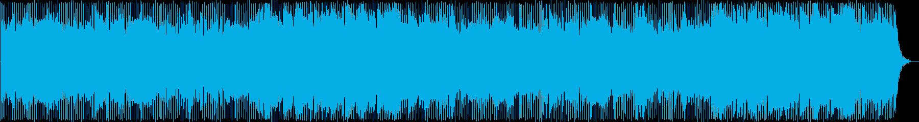 爽やかで駆け抜けていくような曲ですの再生済みの波形