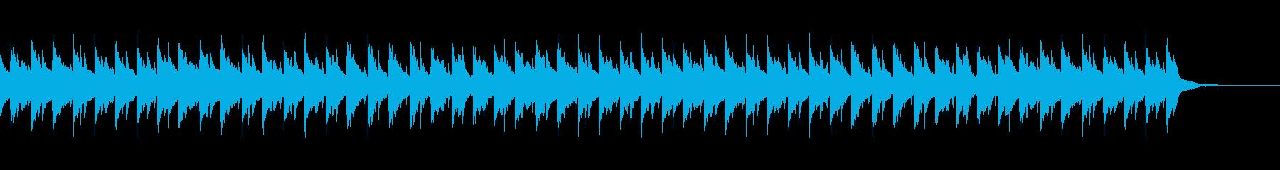 愉快な汎用ピアノ伴奏の再生済みの波形