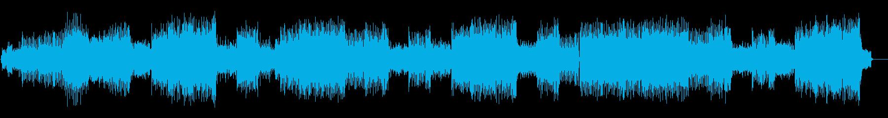 ダンス「PLEASURE ZONE」の再生済みの波形