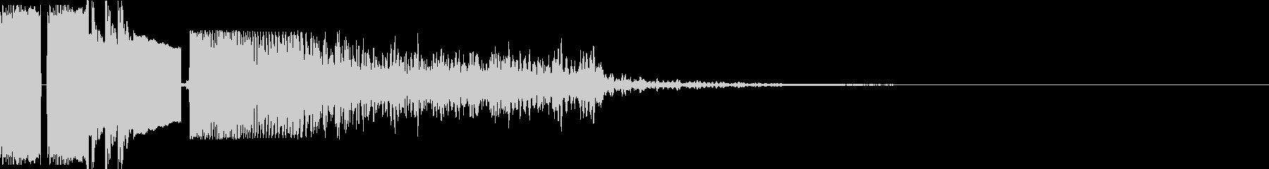 FMジングル制作におすすめの効果音の未再生の波形