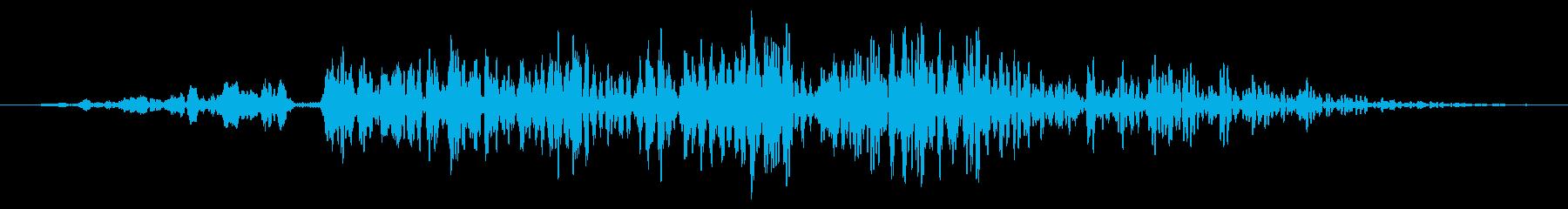 大規模な爆発:低頻度の影響とゴロゴ...の再生済みの波形