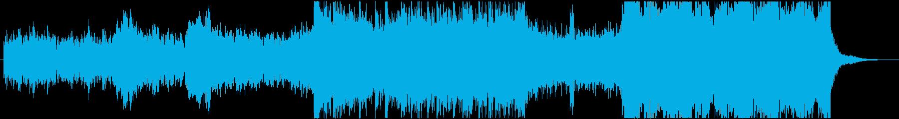 狂気的で謎解きシリアスなサスペンス音楽の再生済みの波形