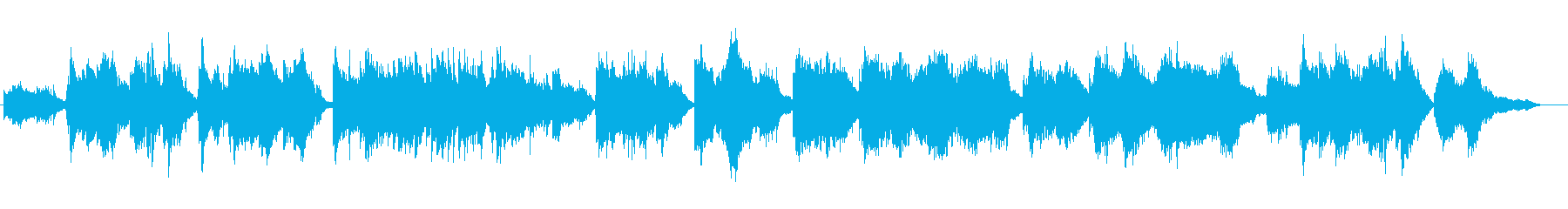 和風 胡弓の演奏によるヒーリング曲の再生済みの波形