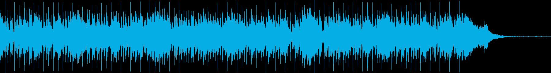 おしゃれでリラックスした企業VP用ジャズの再生済みの波形