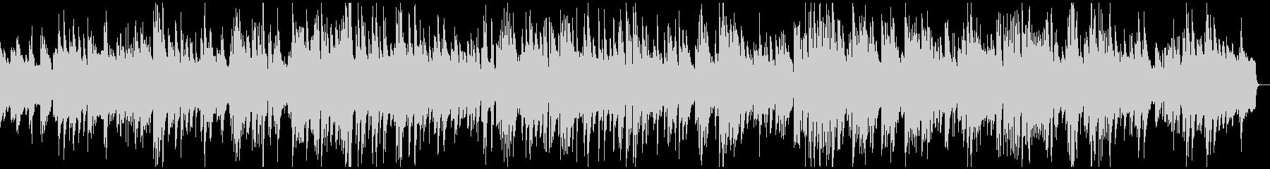 しっとりとしたピアノジャズの未再生の波形