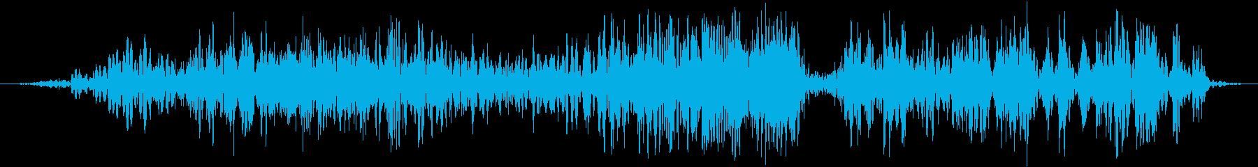 ビッググローヴァンパイア、オーガ、...の再生済みの波形