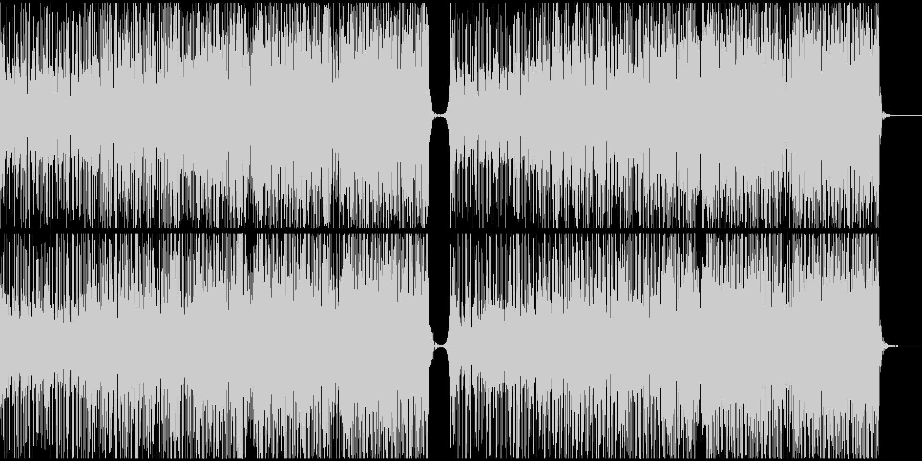 夏っぽいトロピカルハウスの未再生の波形