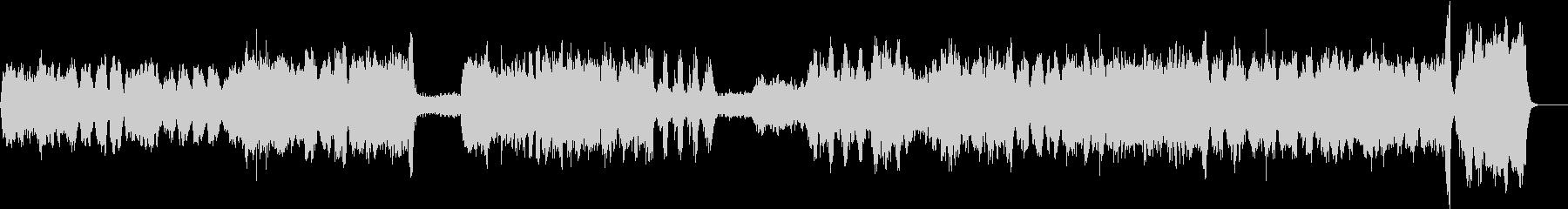 ゲオルク・フリードリヒ・ヘンデルのカバーの未再生の波形
