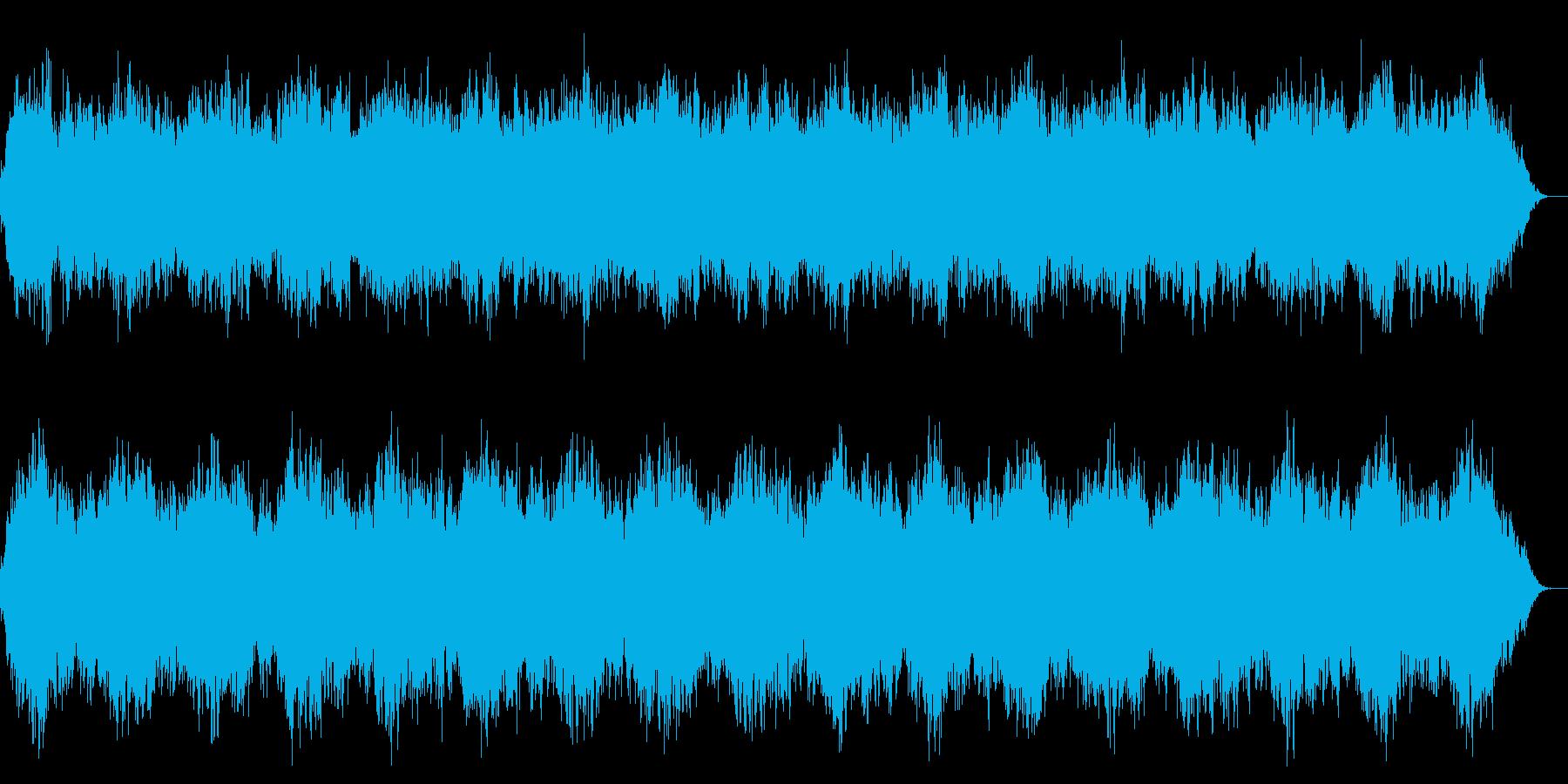 ヒーリング・自然の再生済みの波形
