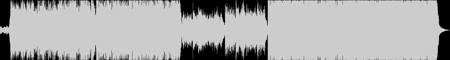 メロディアス・ヘヴィシンフォニックメタルの未再生の波形